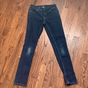 Girls Jeans - Justice size 10 slim